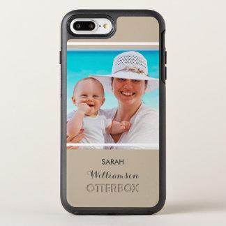Stellen Sie Ihr eigenes Foto für Mamma oder Vati OtterBox Symmetry iPhone 8 Plus/7 Plus Hülle