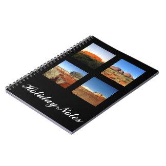 Stellen Sie Ihr eigenes Fotonotizbuch her Notizblock