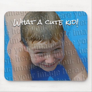 Stellen Sie Ihr eigenes niedliches KinderFoto Mousepad