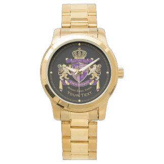 Stellen Sie Ihr eigenes Wappen Uhr
