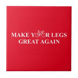Stellen Sie Ihre Beine groß wieder her Fliese