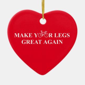 Stellen Sie Ihre Beine groß wieder her Keramik Ornament