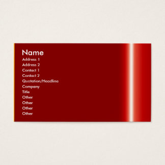 Stellen Sie Ihre eigene elegante rote Visitenkarte