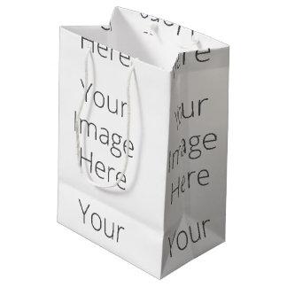 Stellen Sie Ihre eigene kundenspezifische Mittlere Geschenktüte