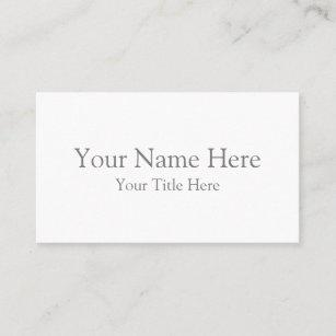 Visitenkarten Zazzle De