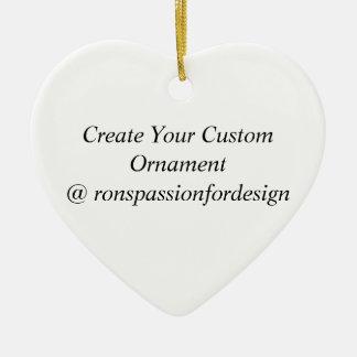 Stellen Sie Ihre kundenspezifische Verzierung her Keramik Herz-Ornament