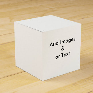 Stellen Sie Ihren eigenen Bevorzugungs-Kasten her Geschenkschachtel