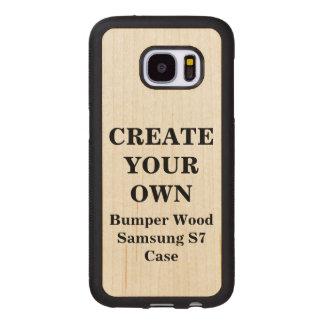 Stellen Sie Ihren eigenen hölzernen Stoßfall Samsung Galaxy S7 Holzhülle