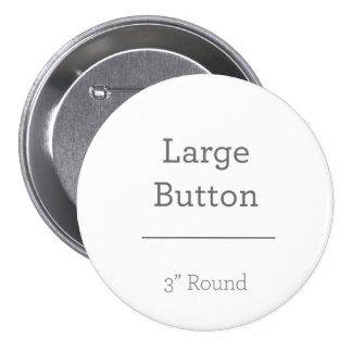 Stellen Sie Ihren eigenen Knopf her Runder Button 7,6 Cm