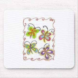 Stellen Sie Ihren eigenen reizenden bunten Girly Mousepad