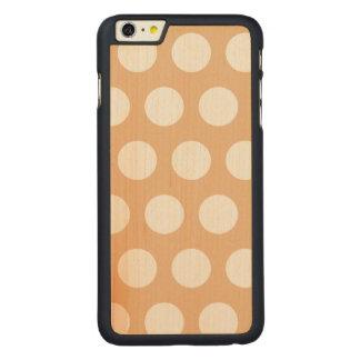 Stellen Sie Ihren eigenen Tupfen her Carved® Maple iPhone 6 Plus Hülle