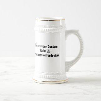 Stellen Sie Ihren kundenspezifischen Stein her Bierkrug
