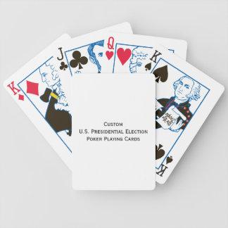 Stellen Sie kundenspezifische politische Poker Karten