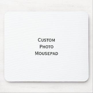Stellen Sie kundenspezifischen Zuhause-Büro-Foto Mauspad