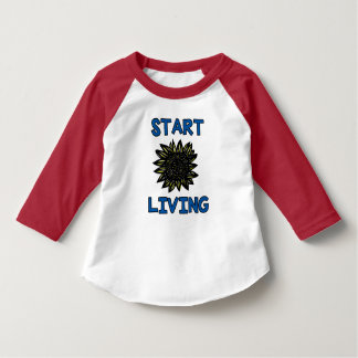 """""""Stellen Sie leben"""" Hülseraglan-T - Shirt des"""
