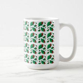 Stellen Sie meine Stechpalmen-WeihnachtsTasse her Kaffeetasse