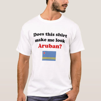 Stellen Sie mich die hellen Shirts Blick Aruban