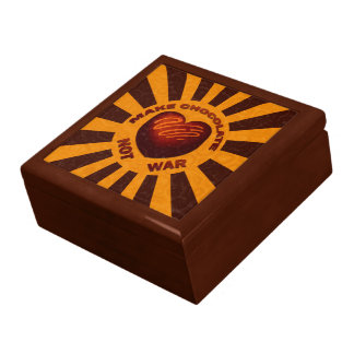 Stellen Sie Schokoladen-nicht Erinnerungskiste