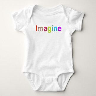 Stellen Sie sich bunten T - Shirt Inspiration des