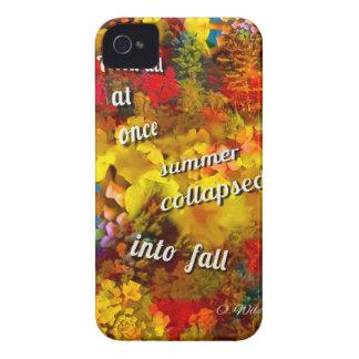 Stellen Sie sich die Herbstsaison ohne diese Case-Mate iPhone 4 Hülle