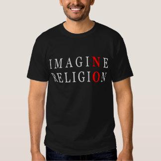 Stellen Sie sich keine Religion vor T Shirts