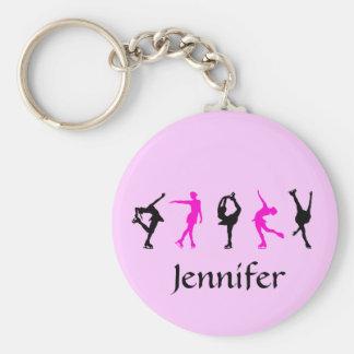Stellen Sie Skater-Mädchen u. Namen-Schlüsselkette Schlüsselanhänger