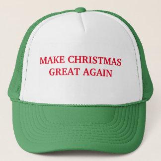 Stellen Sie Weihnachten großen wieder Hut her Truckerkappe