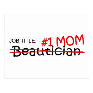 Stellenbezeichnung-MammaBeautician Postkarte