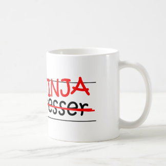 Stellenbezeichnung Ninja - Friseur Kaffeetasse