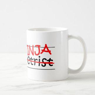 Stellenbezeichnung Ninja - Optometriker Kaffeetasse