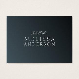 Stellenbezeichnung stilvoller Schwarz Gradienten Jumbo-Visitenkarten