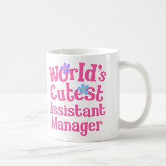 Stellvertretender Direktor-Geschenk-Idee für sie Kaffeetasse
