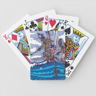 Stelzefischen Bicycle Spielkarten
