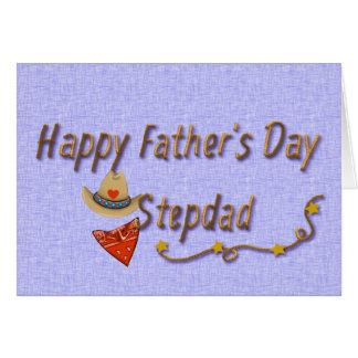 Stepdad-Karte der Vatertag Karte
