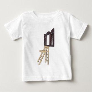 StepLadderShutteredWindow092512 copy.png Baby T-shirt