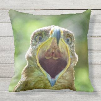 Steppe-Eagle-Kopf 001 2,1 Kissen