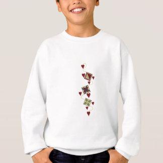 Steppender Entwurf Sweatshirt