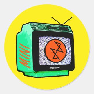 Stereokroma MiniTV Aufkleber