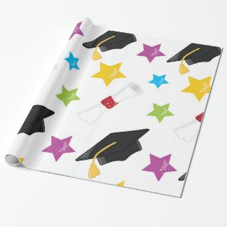 Stern-Absolvent Geschenkpapier