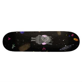 Stern-Blasen-und Schluckauf-Skateboard 18,7 Cm Mini Skateboard Deck