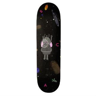 Stern-Blasen-und Schluckauf-Skateboard 20,1 Cm Skateboard Deck