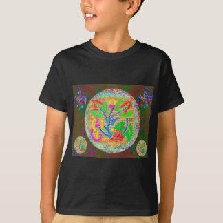Stern-Blumenkunst T-Shirt