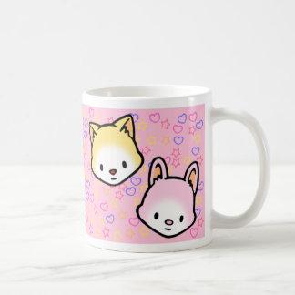 Stern-Bonbon-und Honig-Herz-Tasse Tasse