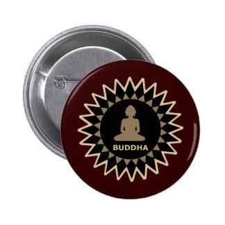 Stern Buddha Anstecknadelbutton