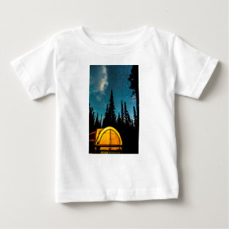 Stern-Camping Baby T-shirt