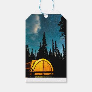 Stern-Camping Geschenkanhänger