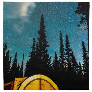 Stern-Camping Stoffserviette