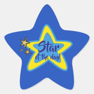 Stern der Tagesstudent-Aufkleber Stern-Aufkleber