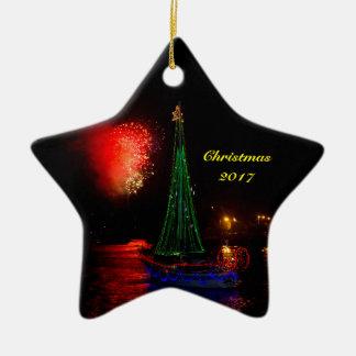 Stern des Segelboot-2017 und des Keramik Ornament