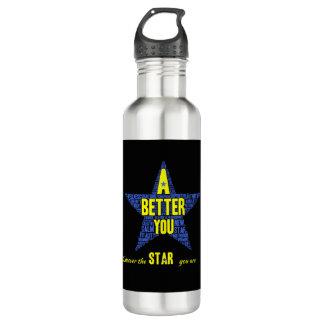 Stern-Entdeckungs-Wasser-Flasche Edelstahlflasche